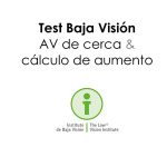 Test Agudeza Visual cerca Baja Visión - Instituto Recoletos